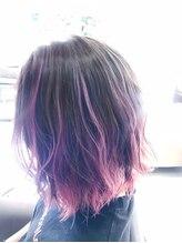 ヘアーカルム(hair caLm)個性派デザインカラー
