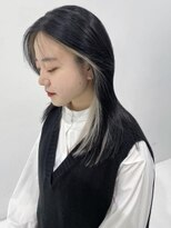 シキナ(sikina)【ナカムラ_design】フェイスハイライト ブラック