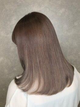 アース コアフュールボーテ 上尾店(EARTH coiffure beaute)の写真/「カラーの発色」と「うる艶な質感」を長持ちさせる秘訣は髪質改善トリートメント♪髪を深部から補修します
