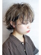 バイテン 久喜(X10)☆ミルクティーブラウン×ハイライト×ローライト☆