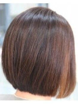 グロウ(glow)の写真/【自然の力で美しい髪へ♪】髪に優しいオーガニックカラー☆白髪だからこそできるオシャレがあるんです!