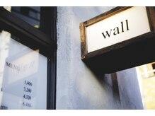 ウォール(wall)の雰囲気(net予約&当日予約可能です。朝11時から夜20時まで営業です)