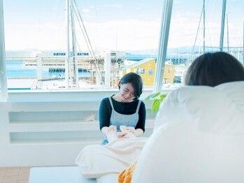 トリッカバルコニー ハヤマ(tricca Balcony Hayama)の写真/【♯海を一望出来る癒しの空間でのひと時】非、日常のサロンtimeをtriccaで…*゜