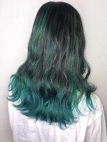 ソース ヘア アトリエ 京橋(Source hair atelier)【SOURCE】リーフグリーン3Dグラ