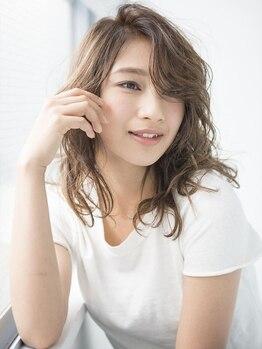 クレス 東武練馬店の写真/硬い髪質も柔かい質感を再現できる「イルミナカラー」導入!未体験の光色で憧れの透明感のあるツヤカラー♪