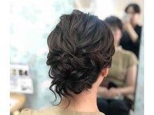 ブライダル ヘアメイク メリア(Bridal Hair Make MERIA)の雰囲気(パーティヘアはお任せください☆)