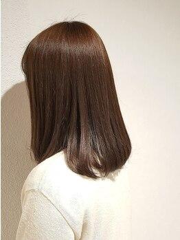ヘアーリゾート モアナ(hair Resort moana)の写真/【本八幡駅徒歩5分】ナノミストTRで弾力ある艶髪に!気になる悩みを解消♪ダメージを補修し美髪へ導きます