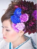 花盛りヘアセット
