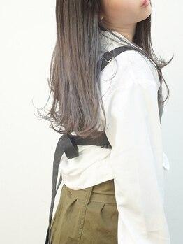 ヘアサロン ケッテ(hair salon kette)の写真/【フローディアTr/グローバルミルボンTr】厳選トリートメントを1人1人の髪の状態に応じて選びます♪