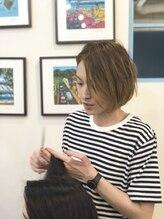 オーブ ヘアー ルル 京都四条通り店(AUBE HAIR lulu)金丸 麻規