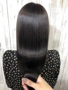 ヘアー ティンク(hair tink'u)の写真/【Aujua認定サロン☆】Aujuaのオーダーメイドヘアケアプログラムで、あなたの髪の美しさをサポートします―