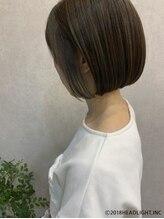 フローレス バイ ヘッドライト 三鷹店(hair flores by HEADLIGHT)小顔ナチュラルボブ×インナーカラー