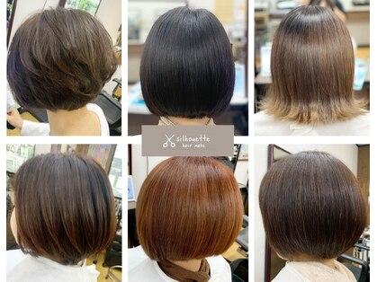 silhouette hair make【シルエットヘアメイク】