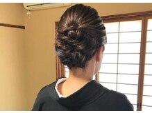 ブライダル ヘアメイク メリア(Bridal Hair Make MERIA)の雰囲気(結婚式ご参列のお母様もお着付け、ヘアセットのご予約承ります)