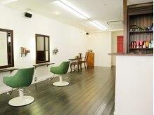 ヘアーアトリエ ヨネカ(hair atelier YONEca)の雰囲気(周りを気にしなくていいのでリラックスできます♪)