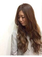 ヘアセラピー サラ(hair therapy Sara)無造作カラー