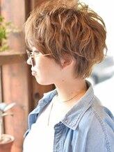 ベル ヘア ラウンジ(Belle hair lounge)【Belle hair lounge】*ドライウェットmixショート*