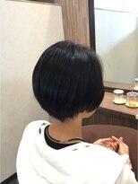 ディアローグ 瑞江店(DEAR-LOGUE)自然な丸みの、ショート縮毛矯正。瑞江