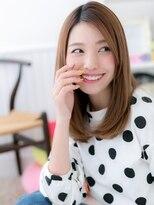 【macaron】ストレートミディ