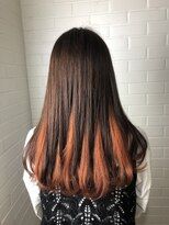 ヘア プロデュース キュオン(hair produce CUEON.)inner orange