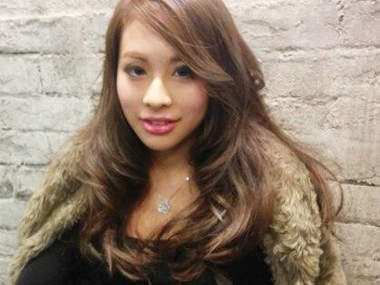 グラム ヘアー(glam hair)の写真