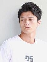 リップス 二子玉川店 (LIPPS)バーンブラスト ツーブロック 刈り上げ 前髪かきあげ 男髪