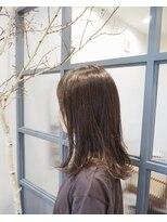 ティルヘアー(TiLL HAIR)ミルクティーベージュ 赤みゼロカラー × N.オイル