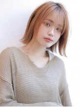 アグ ヘアー デフィ 山形桜田店(Agu hair defi)《Agu hair》長めバングでつくるタッセルボブ