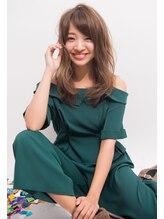 ヘアサロン リコ(hair salon lico)☆ミルクティーカラーミディ☆【hair salon lico】03-5579-9825