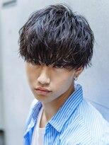アクロス(AKROS)【艶髪セクシーバング】無造作刈り上げマッシュショート