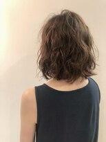 ヘアーエスクールステラ(hair S.COEUR stella)ミディアムパーマ