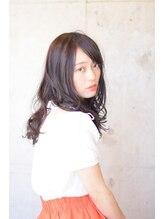 ヘアアンドビューティー ストーリア(hair&beauty STORIA)抜け感ロング