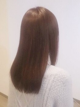 ツムギ(tumugi)の写真/1人1人の髪質をカウンセリングで見極め、スタイリストが4種類の中からぴったりのTrを選びます♪