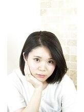 """ヘアーメイク プティ(hair make Petite)ツヤ重視☆ショートボブスタイル2016""""武蔵小山・プティ・petite"""