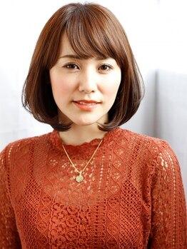 レリーノーブル(Rely Noble)の写真/【40代女性のためのサロン】経験豊富なStylistが選び抜く「貴女に一番のカラー」髪の芯から潤う-5歳Style