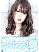 ヘアサロン ガリカ 表参道(hair salon Gallica)『 グレージュ & 毛束感 』無造作ひし形シルエットsemi ☆