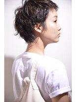 バルーンヘアー(BALLOON HAIR)【 BALLOON HAIR 表参道 】『ショート』×『パーマ』