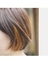 アイリーヘアー(iriE hair)大人ボブ × インナーカラー