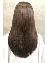 アッシュ 伊勢崎(ash)20代30代40代/髪質改善/艶感ストレート/ナチュラル
