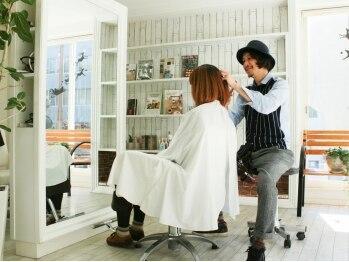 ヘアメイク ニコ(Hair make Nico)の写真/<シンプル可愛い女子>が通う『Nico』。大型サロンが苦手な方にオススメ。リラックスできる癒しの雰囲気…