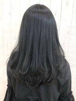 アーク イオン土山店(ARK)の写真/憧れのまっすぐで、素直な髪にボリュームダウン♪悩み知らずのストレートでどんな時でも可愛い自分に☆