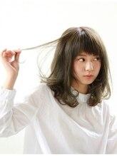 ティースタイル(hair salon t-style)【t-style】フレンチカラーで動きと軽さを出したミディアムヘア