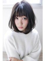 【Lolonois豊中】ふんわり黒髪ミディアムボブ(藤岡なおき)