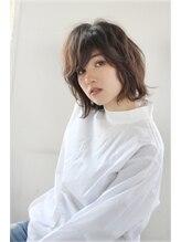 モッズ ヘア 新宿サウス店(mod's hair)女性らしいフォルムのレイヤーボブ