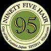 ナインティーファイブヘアー(95 HAIR NINETY FIVE HAIR)のお店ロゴ
