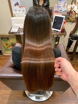 五感鷹匠by髪の病院の写真/固くなりがちなストレートもずっとしなやかで綺麗な髪が続く!扱いやすく自然な質感ならここにお任せ♪