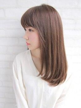 ビームズヘア 千種店(Bee ms HAIR)の写真/【髪質改善】ダメージレスを追求した[酸性ストレート×カシミヤTR]で冬に向けて髪の芯からスペシャルケア♪
