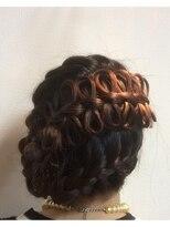 アドゥーヘアー(A do hair)春のガーリーアップ