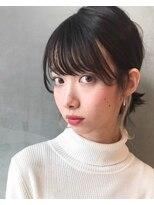 キッカケ アットデプス(KIKKAKE@Depth)アレンジにたっぷり後れ毛をプラス