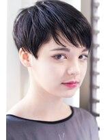 イロドリ ヘアーデザイン(IRODORI hair design)IRODORI 刈り上げ×ショートマッシュ [西尾一寛]